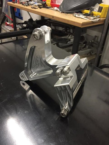 NEW UPDATED MX Style Relocation Bracket - V3 - Schantz Fabrication - The Best Minimoto, Pitbike, Minibike Source - Factory Minibikes