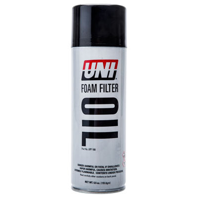 Uni Foam Air Filter Oil 5 5 oz  Aerosol