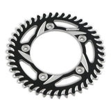 Aluminum CAT5 Rear Sprocket - CRF110 - Black - Vortex - The Best Minimoto, Pitbike, Minibike Source - Factory Minibikes