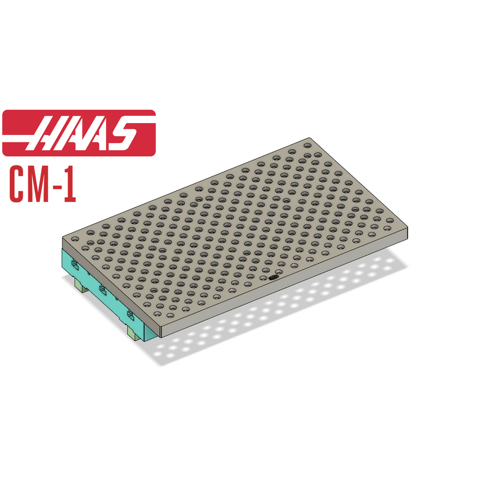 Haas CM-1 Fixture & Tooling Plate