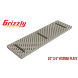 Grizzly G0619 Aluminum Fixture Tooling Plate