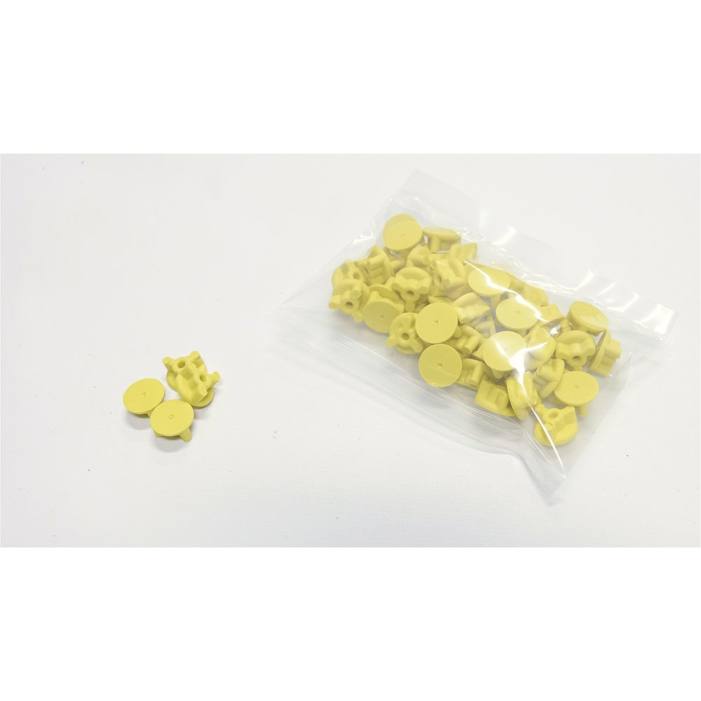 Colored Fixture Plate Plugs (Single Color, 50 Pack)
