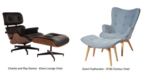 Featherson Chair Eams Lounge Chair