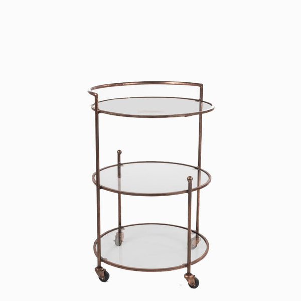 Roger Sterling Bar Cart