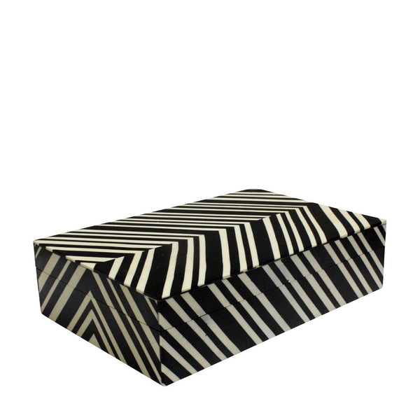 Trinket Box - Black & White
