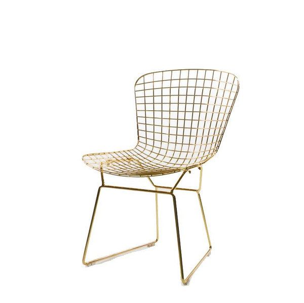Ella Gold Metal Dining Chair
