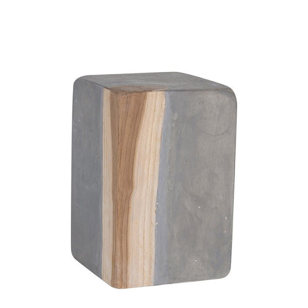 Lulu Matt Resin Stool