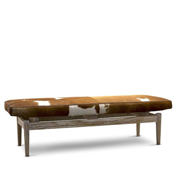 Marco Bench Cowhide Ottoman