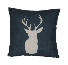 Black Stag Cushion