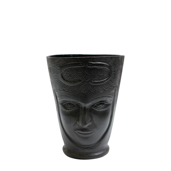 Black Alumni Face Vase