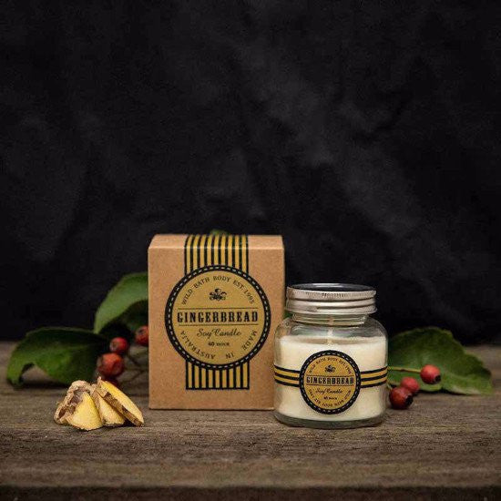 Wild Bath Body - Gingerbread Soy Candle