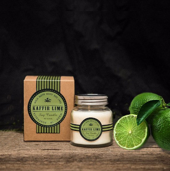 Wild Bath Body - Kaffir Lime Soy Candle