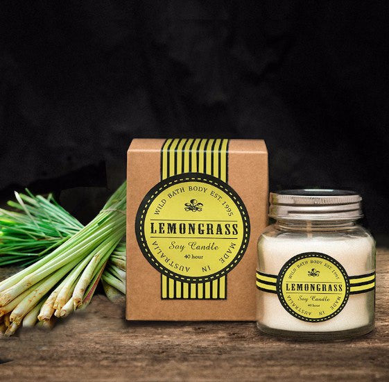 Wild Bath Body - Wild Lemongrass Soy Candle