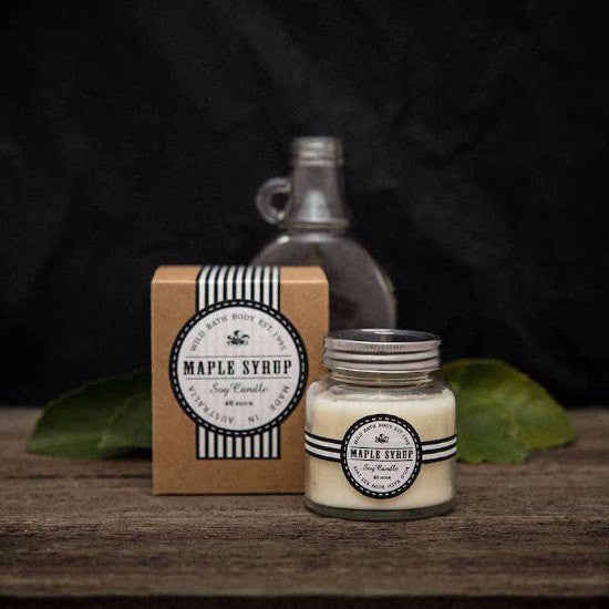 Wild Bath Body - Maple Syrup Soy Candle
