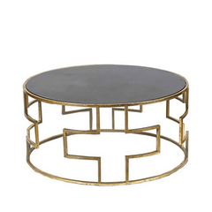 Round Greek Coffee Table