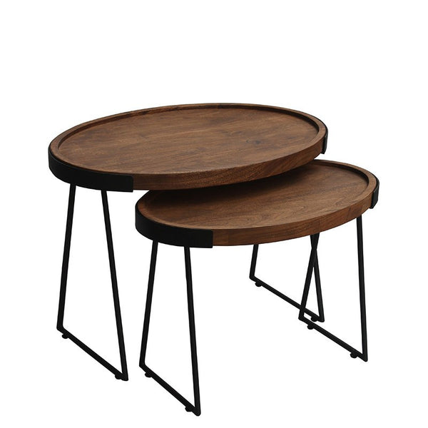 Ovali Tray Side Table's