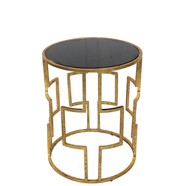 Round Greek Side Table
