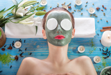 Healing honey green monster face mask