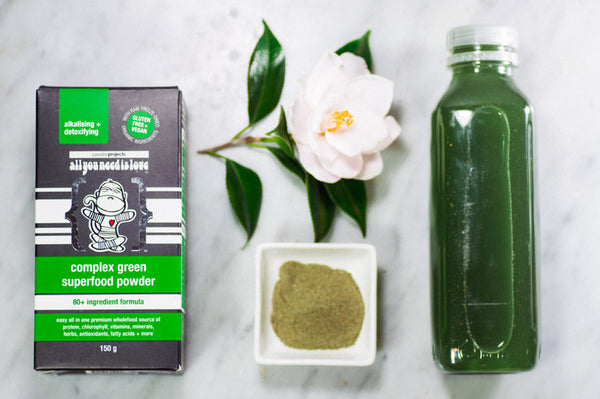 Raw Vegan Complex Green Superfoods by Passion Projects