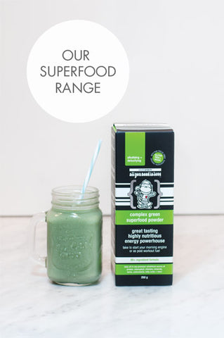 Passion Projects Superfood Range