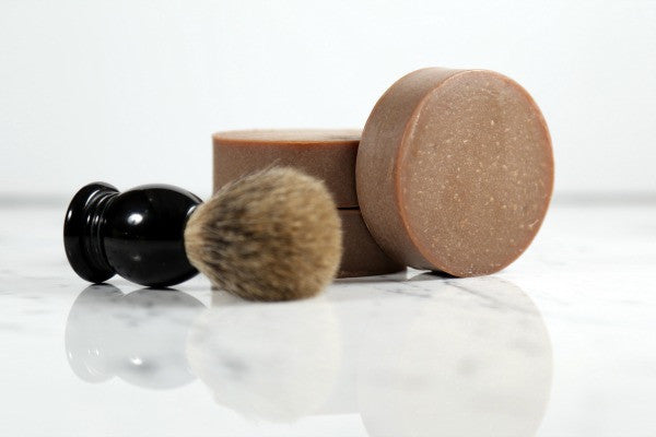 facial + shave soaps