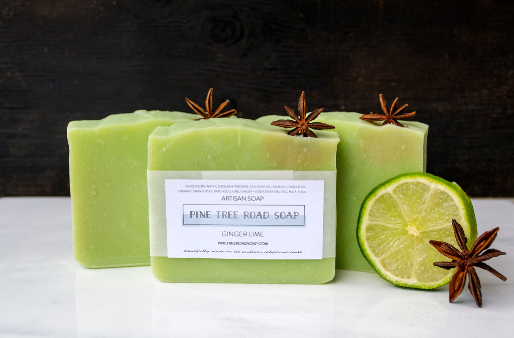 GINGER LIME BAR SOAP