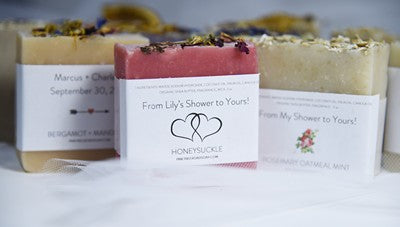 20 WEDDING/BRIDAL SHOWER FAVORS - BRIDAL SHOWER FAVORS SOAP