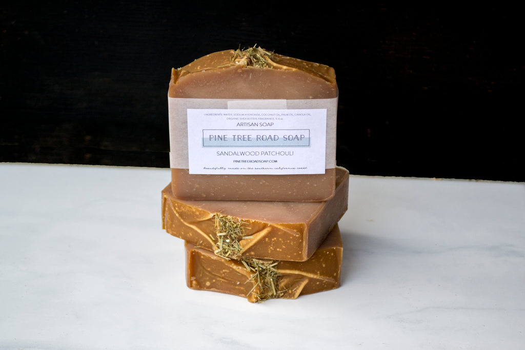 SANDALWOOD PATCHOULI BAR SOAP