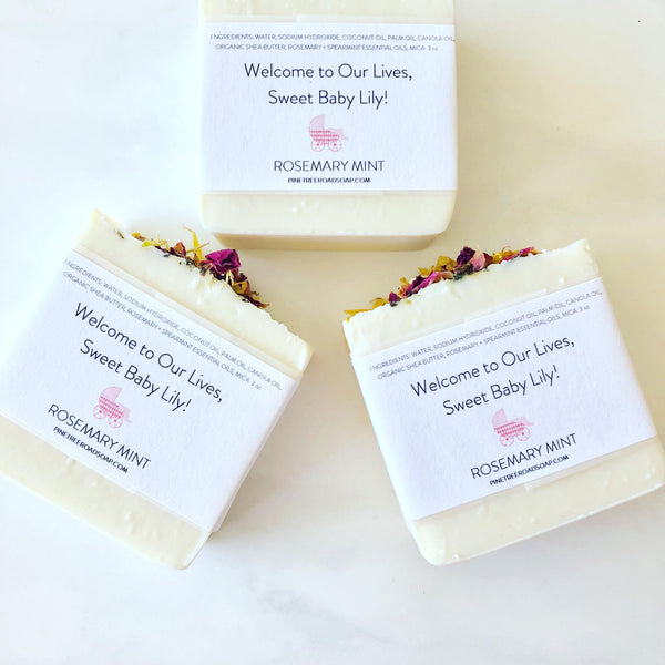 30 BABY SHOWER SOAP FAVORS