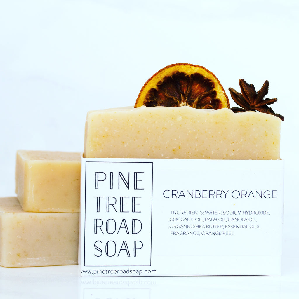 CRANBERRY ORANGE BAR SOAP