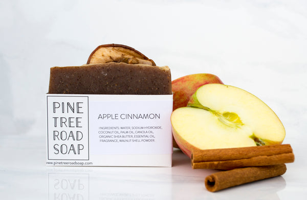 APPLE CINNAMON BAR SOAP