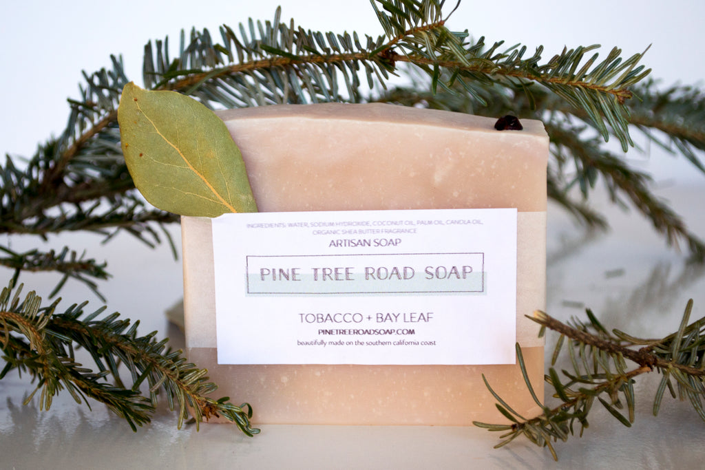 TOBACCO + BAY LEAF BAR SOAP