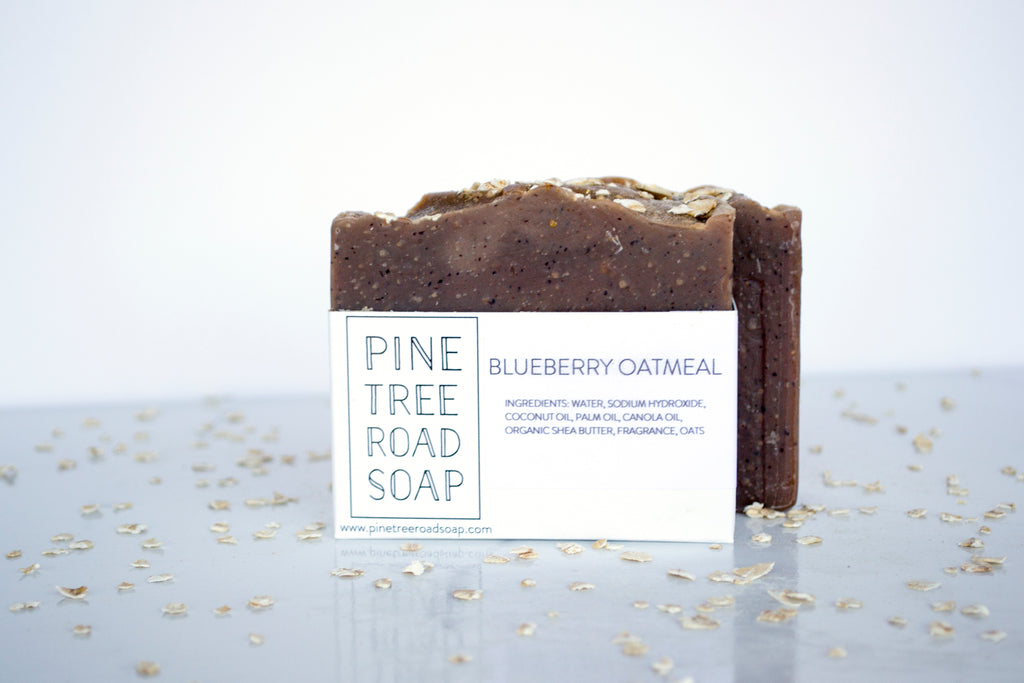 BLUEBERRY OATMEAL BAR SOAP