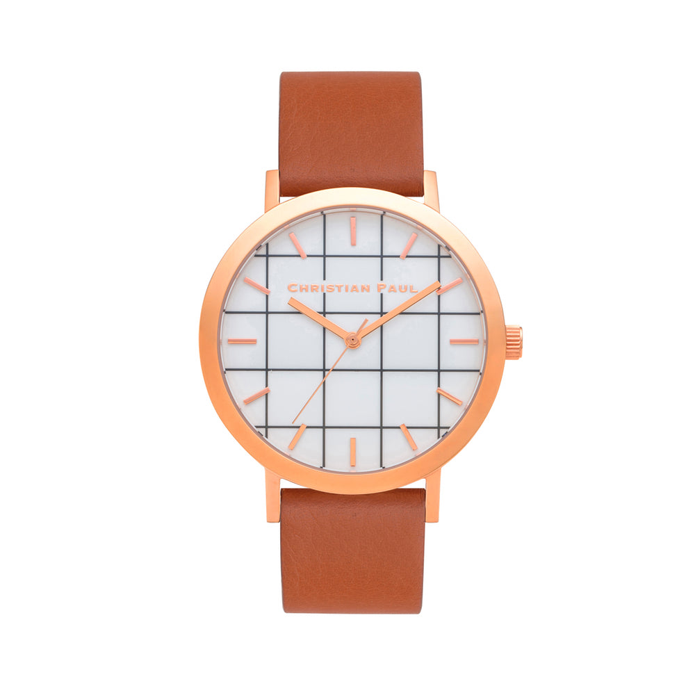 Avalon Grid 43mm by Christian Paul Watches