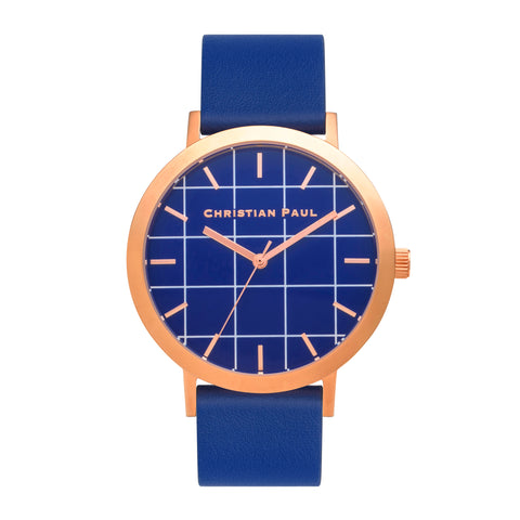 Balmoral Grid 43mm by Christian Paul Watches