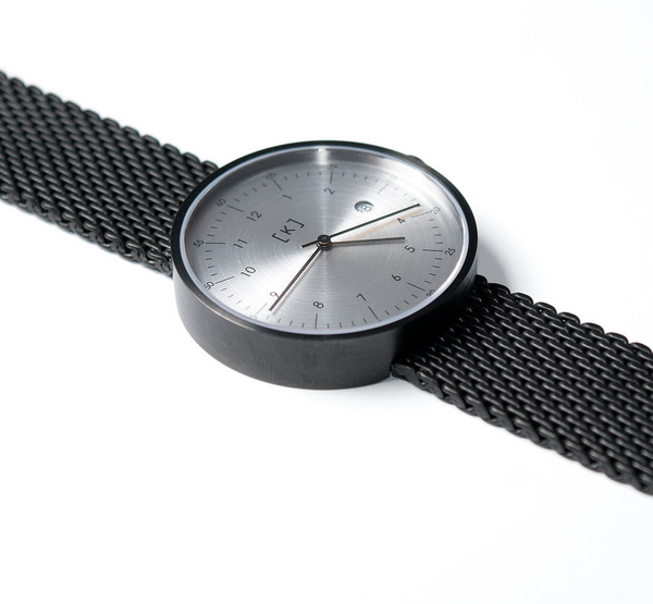 iKi with gun metal mesh strap 101.Watch Store