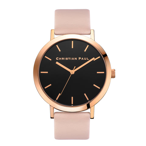 Raw 43mm Rose Gold/Peach by Christian Paul Watches