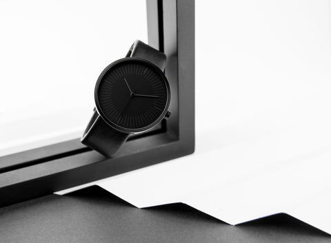 Simpl watch Gravity Black