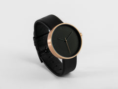 Simpl Watch Amber Black  / Black on Black 101.Watch
