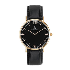 All Black Campus by Kapten And Son Watches
