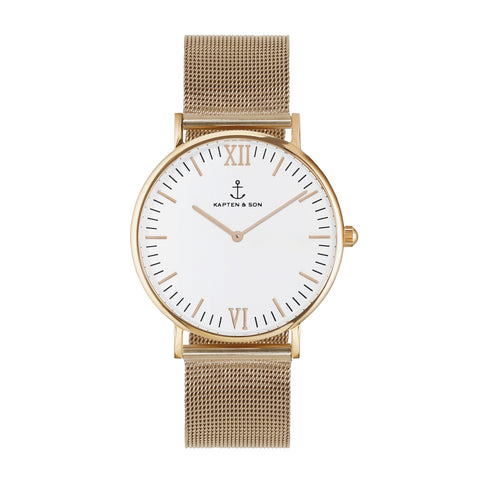 Mesh Campus by Kapten And Son Watches