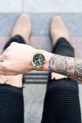Brighton Marble Mesh 35mm by Christian Paul Watches 101.Watch USA