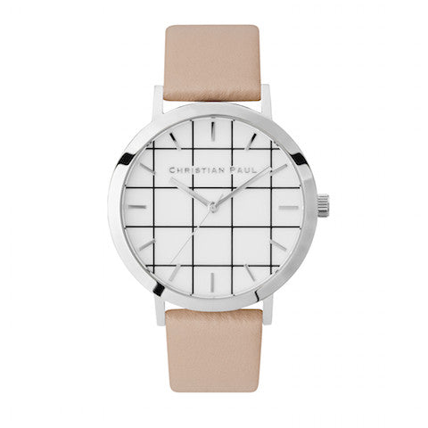 Airlie Grid 43mm by Christian Paul Watches