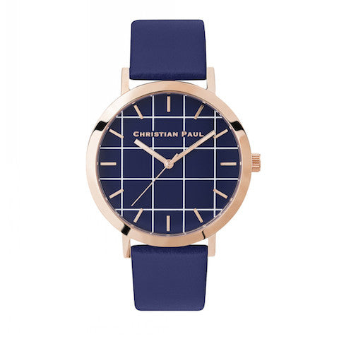 Christian Paul Watch Balmoral Grid 43mm
