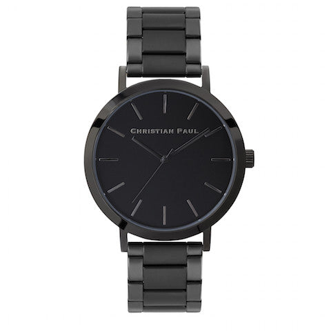 Melbourne Black by Christian Paul Watches