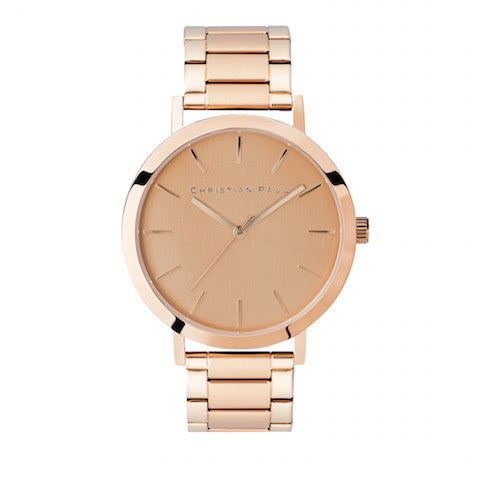 Perth Rose Gold by Christian Paul Watches