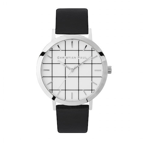 Elwood Grid 43mm by Christian Paul Watches