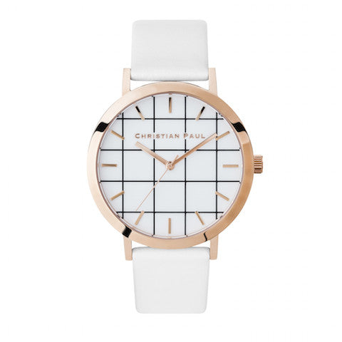 Whitehaven Grid 43mm by Christian Paul Watches
