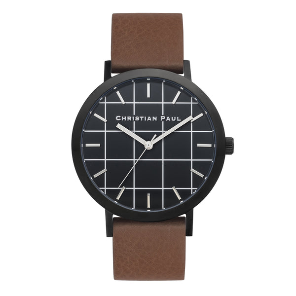 Bridport Grid 43mm by Christian Paul Watches