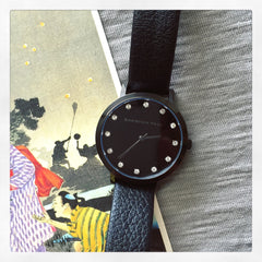 Christian Paul Watch The Strand Luxe 35mm  / Black on Black 101.Watch